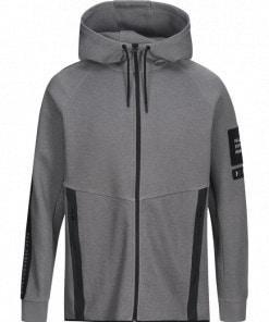 Peak Performance Tech Zip Hood Dark Grey