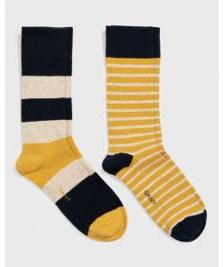 Gant 2-Pack Striped Socks