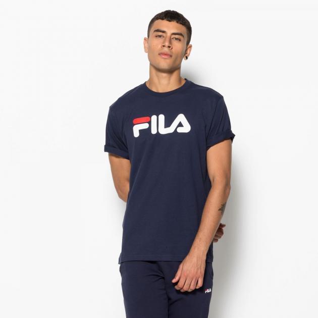Fila Pure Short Sleeve Shirt Dark Blue