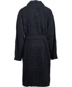Knowledge Bath Robe Dark Blue