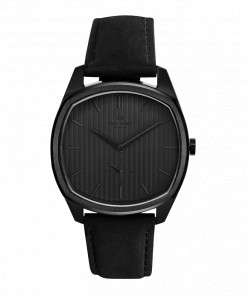 Knut Gadd Watch Stripe Dial Black