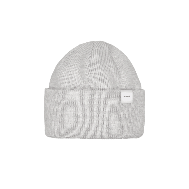 Makia Merino Thin Cap Light Grey