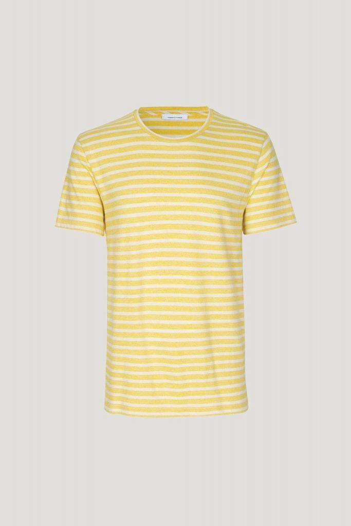 Samsoe&Samsoe Broby Tshirt 7888 Yellow