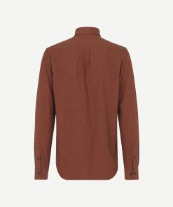Samsoe&Samsoe Liam Bx Shirt Brown