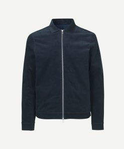Samsoe&Samsoe New Gilbert Jacket Dark Blue