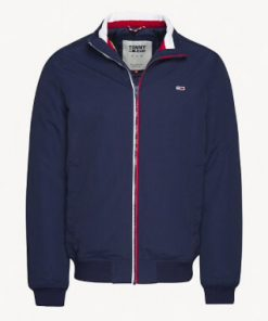 Tommy Jeans Essential Padded Jacket Blue