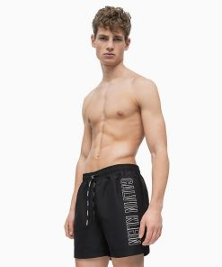 Calvin Klein Swim Medium Drawstring Black