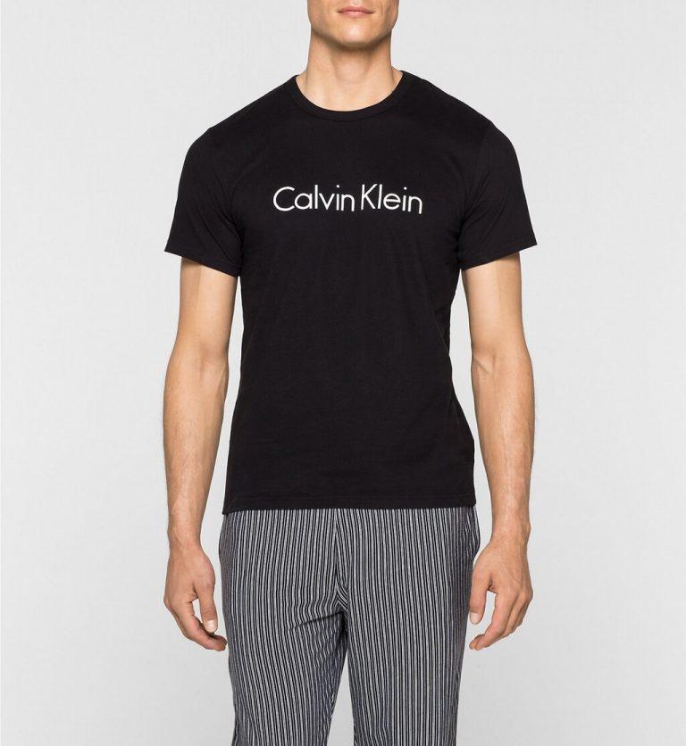 Calvin Klein Crew Neck T-shirt Black