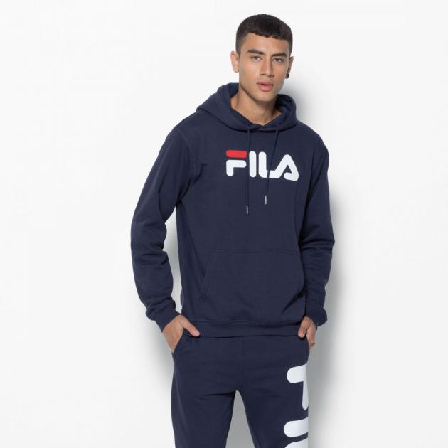 Fila Hoody Pure Unisex Black Iris Dark Blue