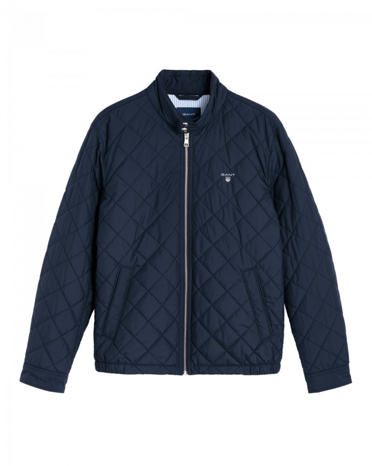 Gant O1. The Quilted Windcheater Navy