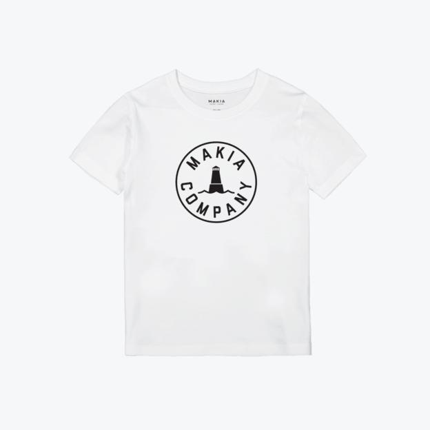 Makia Astern Junior Sizer T-Shirt White