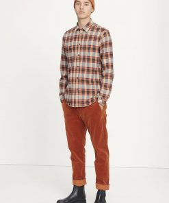 Samsoe&Samsoe Liam Shirt Brown