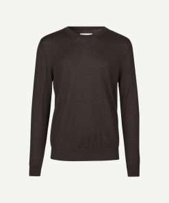 Samsoe&Samsoe Flemming Crew Neck Dark Brown