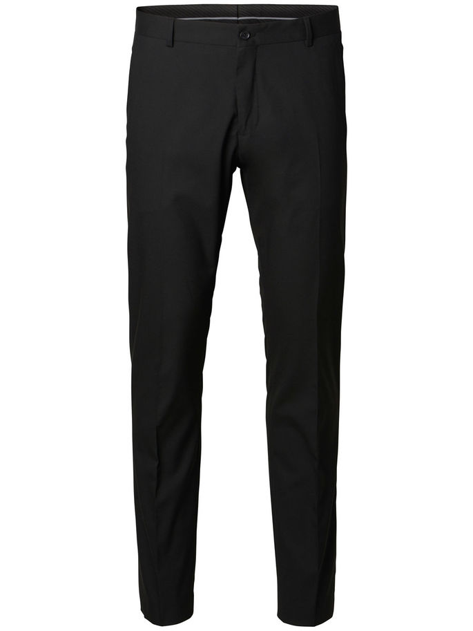 Selected Newone-Mylologan1 Trousers Black