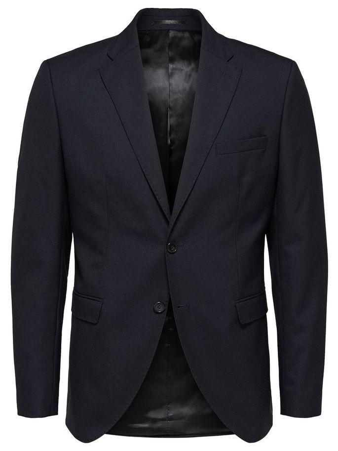 Selected Slim-Mylohigh Blazer Dark Blue