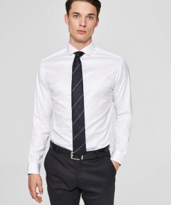 Selected Slimsel-Pelle Shirt Ls White