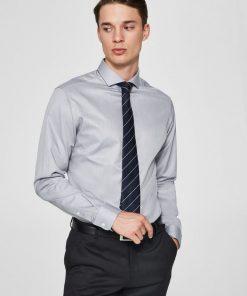 Selected Slimsel-Pelle Shirt Ls White