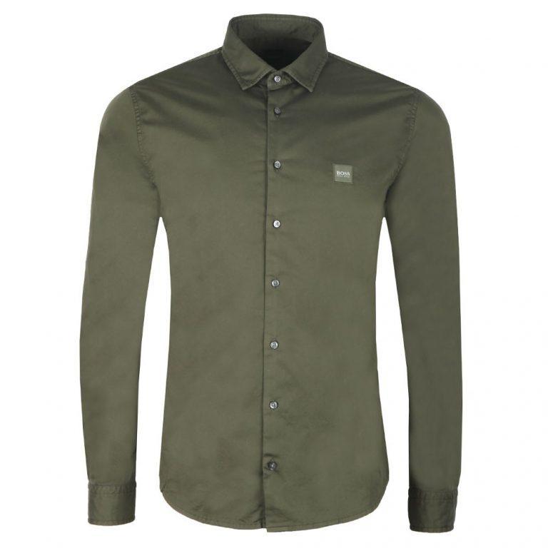 Hugo Boss Mypop Shirt Green