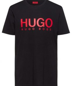 Hugo Boss Dolive Logo T-shirt Black