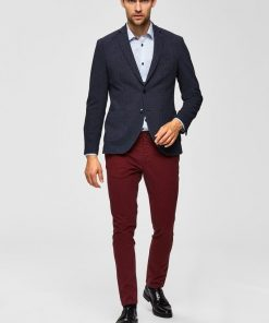 Selected Luca Chinos Skinny Fit Red