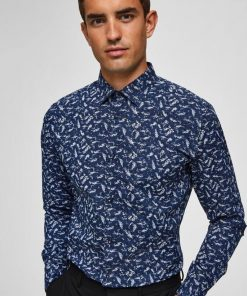 Selected Dunn Shirt Regular Fit Blue