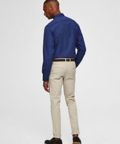 Selected Pen Shirt Slim Fit Blue
