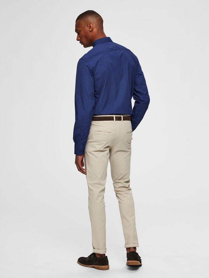 Selected Pen Shirt Slim Fit Blue