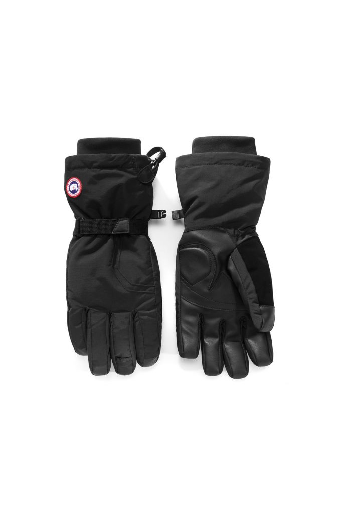 Canada Goose Down Gloves Black