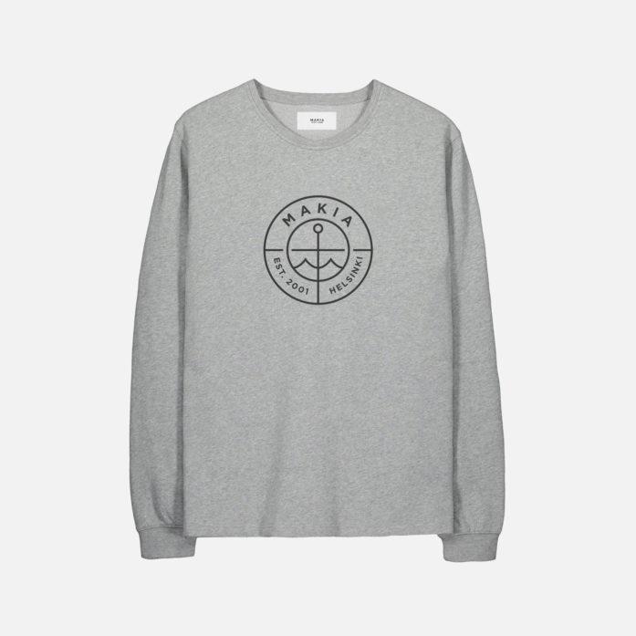 Makia Scope Light Sweatshirt Grey