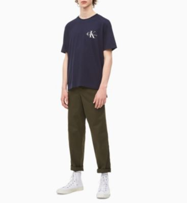 Calvin Klein Jeans Monogram T-shirt Dark Blue