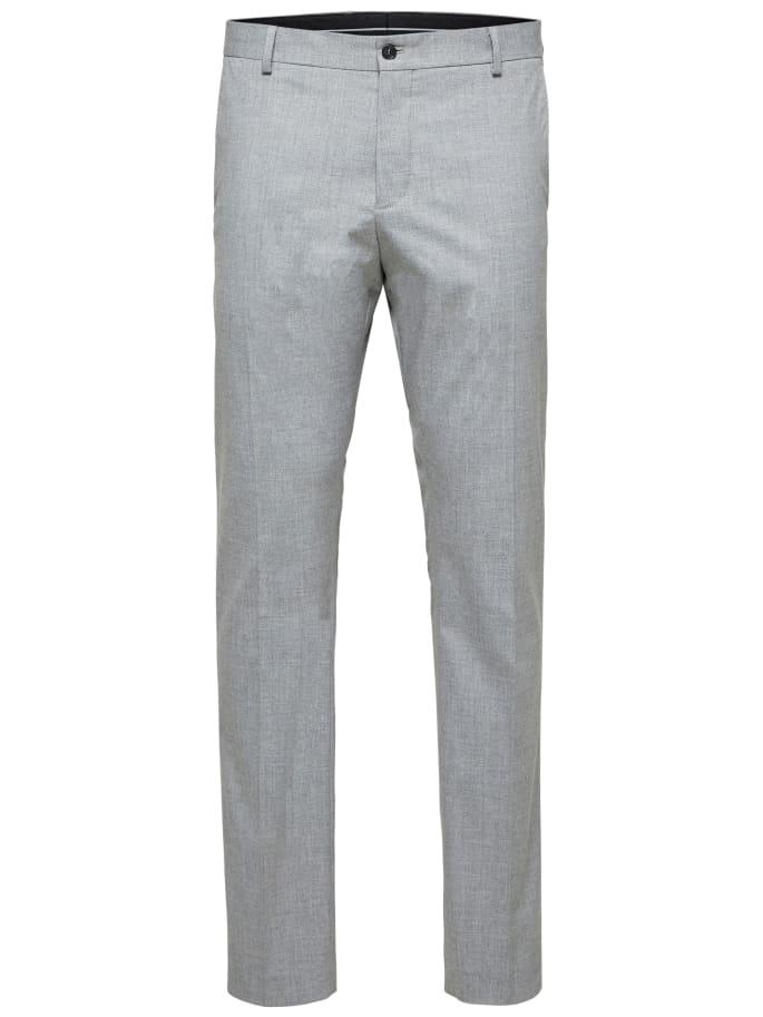 Selected Slim-Mylologan Light Grey