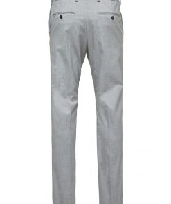 Selected Slim-Mylologan Light Grey