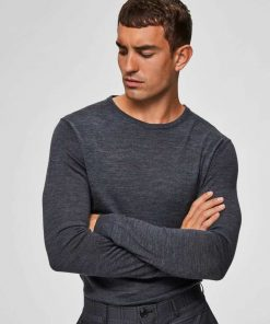 Selected New tower merino wool knit