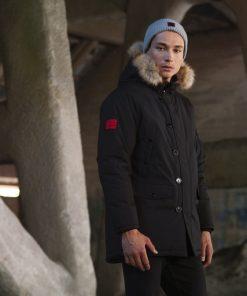 Billebeino Parka Coat Black