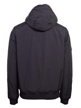 Tommy Jeans Padded Nylon Jacket Black