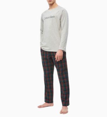 Calvin Klein Woven Pant Set Grey