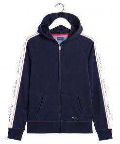 Gant archive zip hoodie
