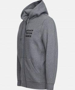 Peak Performance Ground Zip Hood Grey