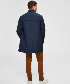 Selected Ras Tech Parka Blue