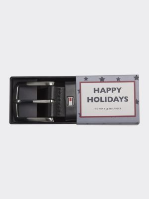 Tommy Hilfiger New Denton Giftbox Belt Black
