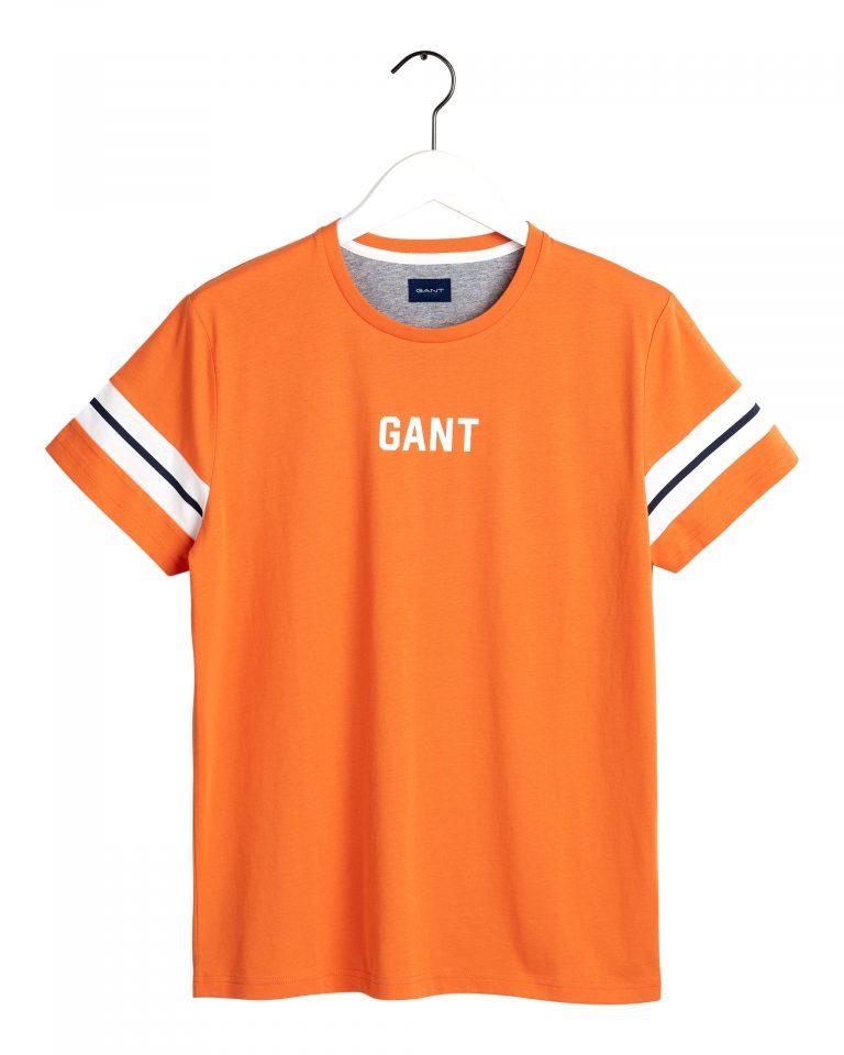 Gant Logo T-Shirt Orange