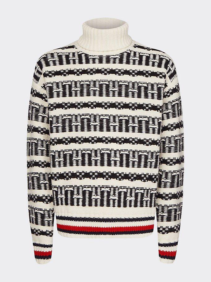 Tommy Hilfiger Oversized Fair Isle Sweater