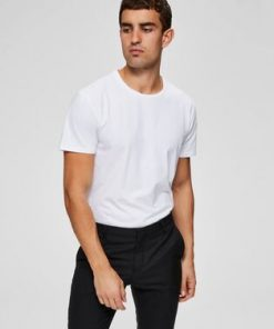 Selected O-Neck Tee White