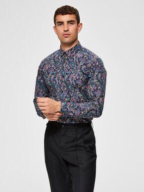 Selected Slimneo Shirt Black