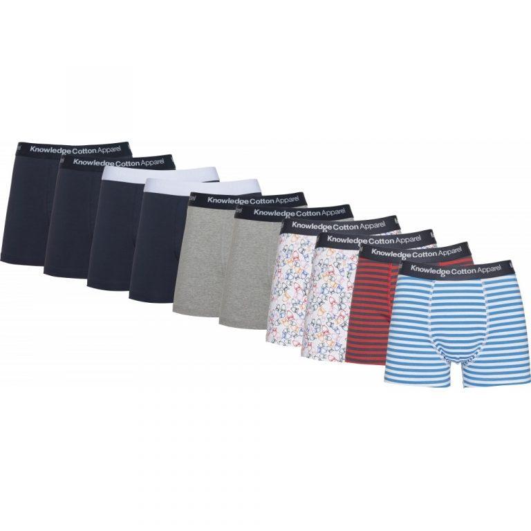 Knowledge Cotton Apparel Maple 10-Pack Underwear
