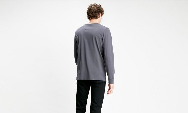 Levi's Relaxed Graphic Tee 90's Serif Grey
