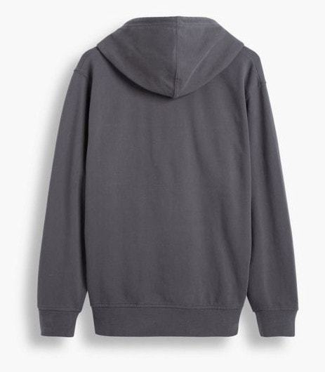 Levi's Pieced Pullover Hoodie Grey