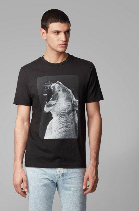 Hugo Boss Troaar Jersey T-shirt Black