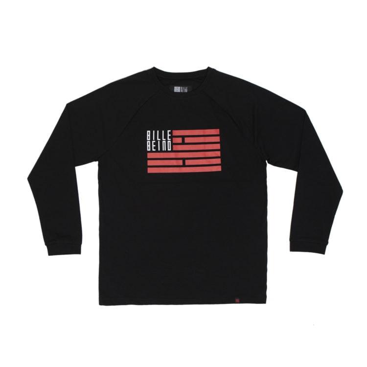 Billebeino Flag Long Sleeve Black