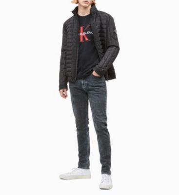 Calvin Klein Jeans Monogram Logo Tee Black